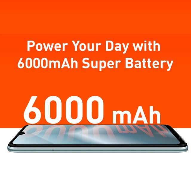 Infinix HOT 10 PLAY Smart Phone Global Version 2GB 32GB 4GB 64GB 6.82'' HD+ Display 6000mAh Helio G25 G35 MobilePhones 4