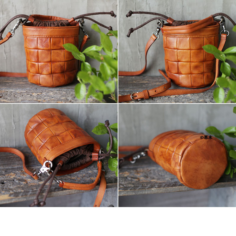 AETOO New grande capacidade de ombro único saco preto de couro macio cinta larga ombro balde bolsa de couro verticais saco grande - 3