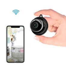 Wireless Mini WiFi Camera 720P HD IR Night Vision Home Security IP Camera CCTV Motion Detection Baby Monitor  Remote Control babykam ip camera video nanny 1 0 m hd baby camera ir night vision intecom motion detection alarm 720p mini camera wifi monitor