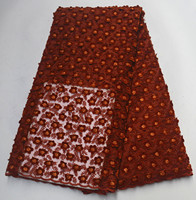 African Lace Fabric High Quality Nigerian Lace for Wedding Party Dresses Applique Lace Fabric