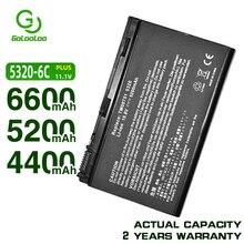 Golooloo 4400MaH Bateria para ACER Extensa 5220 5230 5620 7620 5210 5420 5610 7220 5630 para acer TravelMate 5720 5320 5230 5530 5710