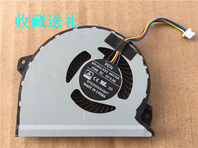 2 air outlet Original fit HP Pavilion 507124-001 cpu cooling fan with heatsink