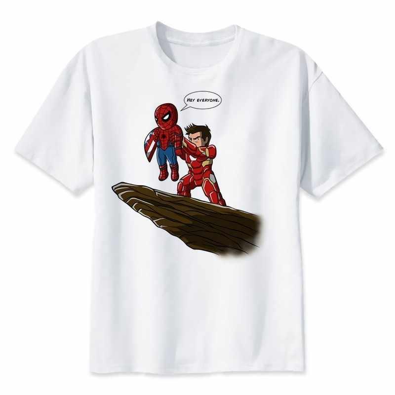 2019 Neweset Endgame Avengers T Camisa Dos Homens/mulheres T-shirt Maravilha Superhero Ironman Capitão América Jogo Final T-shirt Personalizada Masculino
