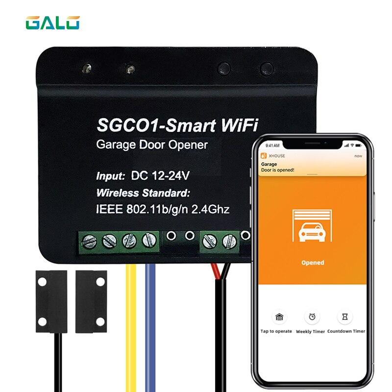 TX CAR Swing Sliding Gate Opener Wifi Remote Control Garage Door Opener Receiver Wifi Smart Receiver