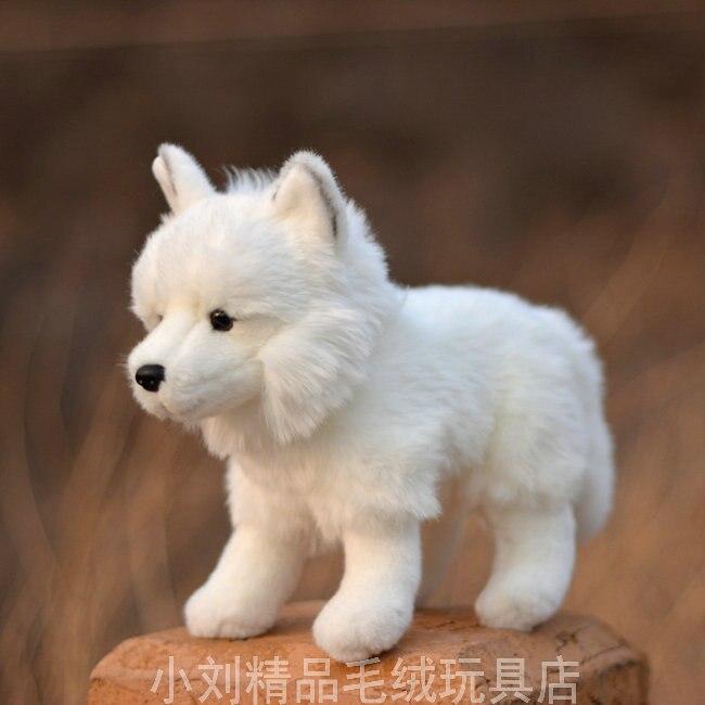 branco vida real animais de pelucia criancas aniversario raposa pelucia brinquedos de pelucia travesseiros poduszka dekoracyjna