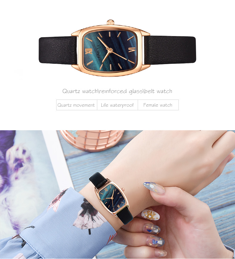 Exquisite small simple women dress watches retro leather female clock Top brand women's fashion mini design wristwatches clock H2ea1ed23437245aa9d5c0f96c4f1d86dP
