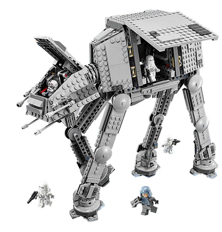 05051 1157Pcs Star Wars Series Force Awaken The AT-AT Armored Model Building Kit Block Bricks Compatible With 75054