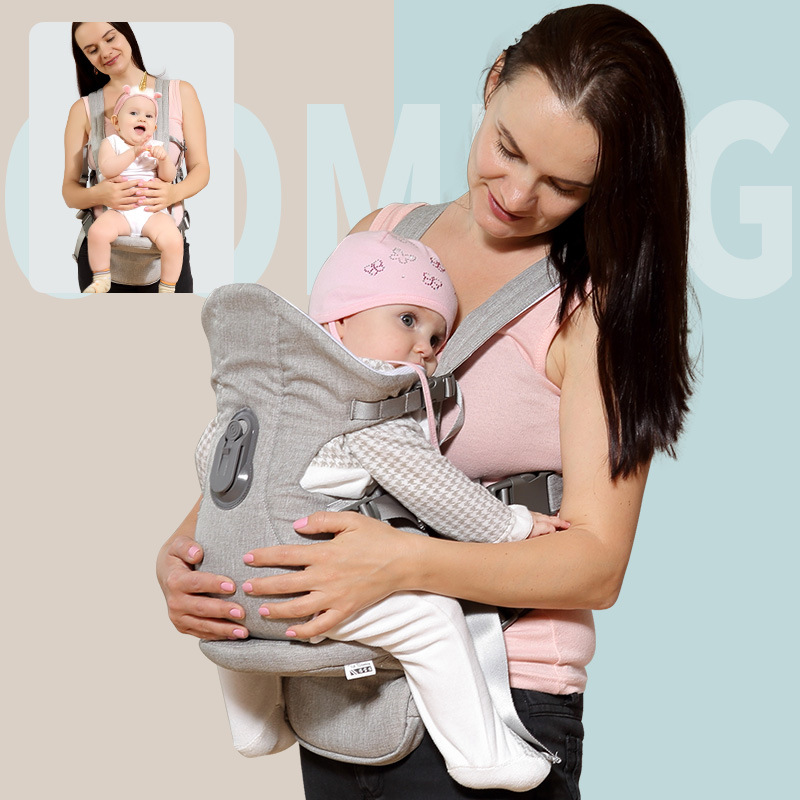 2019 Ergonomic Baby Carrier Breathable Comfortable Sling Backpack Newborn Child Waist Hipsit Pouch Wrap Kangaroo Carrying Holder