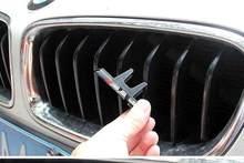 3d abs m3 m4 m5 emblema do emblema da grade do carro para x3 x5 x6 3 45 séries emolduraram dupla grade dianteira do rim da grade da slat para o amortecedor com logotipo de m