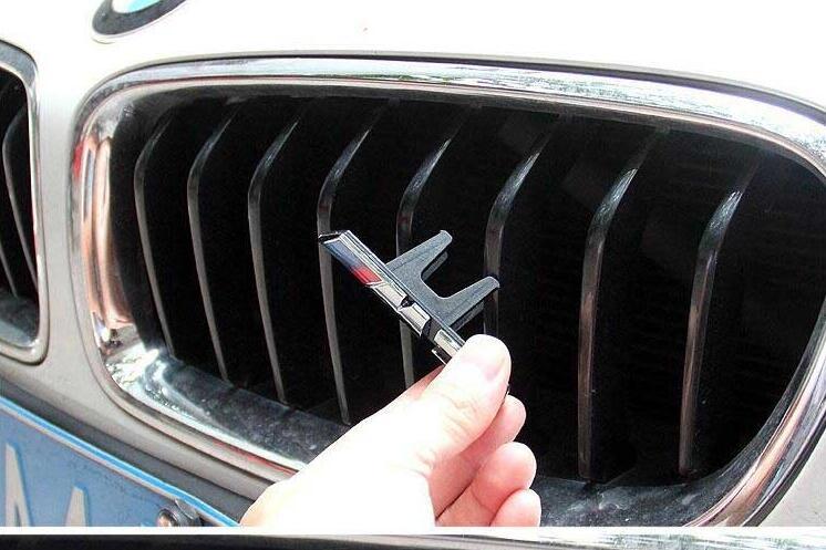 3D ABS M3 M5 эмблема на автомобильный гриль для X5 X6 3 45 серии 320 328 рамка двойная планка гриль передний бампер на радиатор с логотипом M