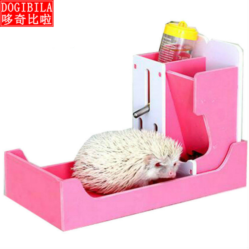 Mini Hedgehog Basin Toilet Kettle Hamster Kettle Water Dispenser Guinea Pig Small Pet Including The 80ML Water Kettle