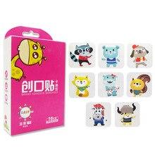 16 Pz/lotto Impermeabile Traspirante Cute Cartoon Band Aid Emostasi Bende Adesive di Primo Soccorso Kit Di Emergenza Per I Bambini I Bambini