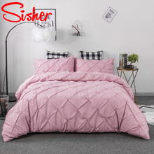 Luxury King Size Bedding Set Modern Solid Jacquard Duvet Cover Sets Single Twin Double Queen Bedclothes Nordic Adult Quilt