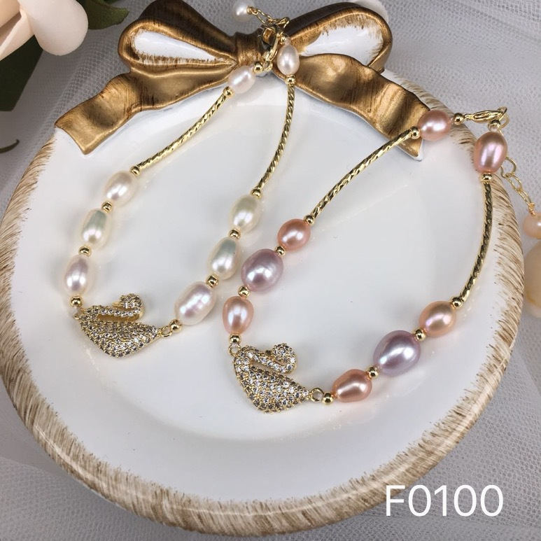 Pulseras De Perlas Cultivadas Natural Pearl Bracelet for Women Kids Jewelry Fashion Cute Animal Bracelet Perles Blanches Pulseir in Chain Link Bracelets from Jewelry Accessories