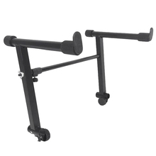 Adjustable Black Heightening Electronic Piano Rack Stand Keyboard Support Holder