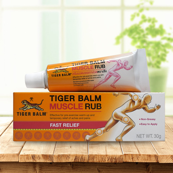 Tiger balm original red 30g/pcs muscle rub relieve Sprain for shoulder relief joints pain massage ointment health care plaster 50pcs vietnam red tiger plaster plaster muscle pain firming shoulder pain relief patch relief health care massage relaxation