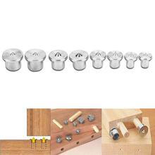 Tenon Marker Alignment-Tools Dowel-Pins Center-Point-Set Woodworking Solid 8pcs 6/8/10/12mm