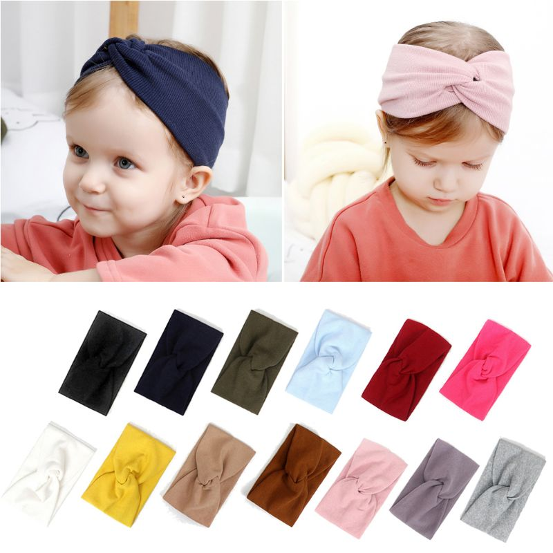 Top Knot Headband 25 Pack Knot Headbands Knotted Headband Baby to Adult