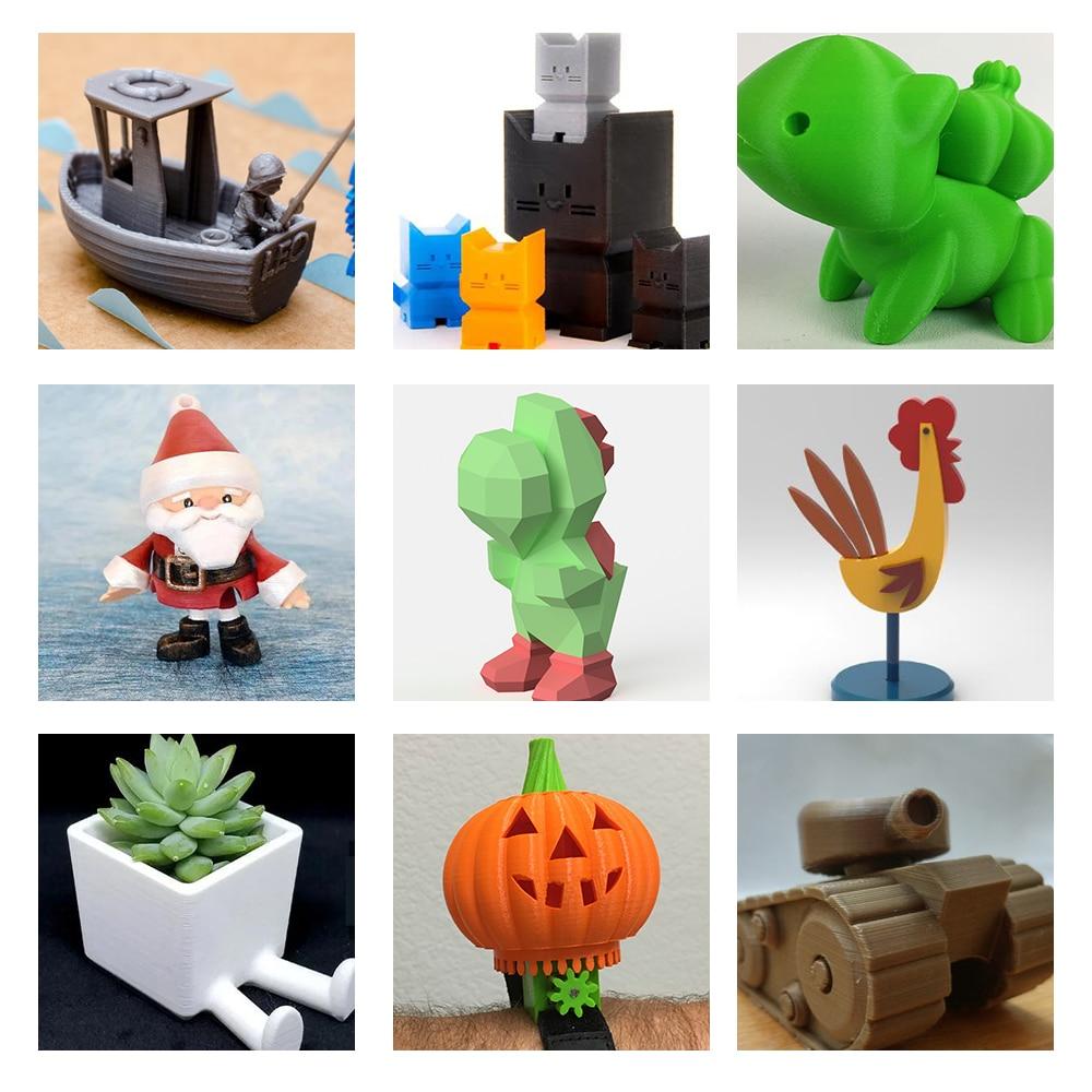 Mini Portable  Kids 3D DIY Printer for Household Education 42