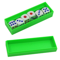 Previsão dicas truques mágicos seis morrer flash mudança magia close-up gimmick brinquedo para crianças nova chegada