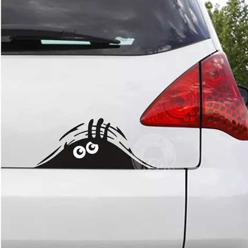 자동차 스티커 재미 있은 3d 큰 눈 peek at 괴물 스티커 메르세데스-벤츠 시리즈-a b c e s m m ml glk cl clk cls gl glk r sl slk