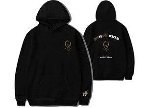 Image 2 - KPOP Stray Kids StrayKids Sweatshirt Hoodies District 9 Unlock Men And Women Hoodies Oversized Hoodie Plus Size 4XL Merchandise