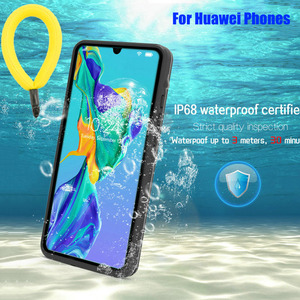 For Huawei Mate 30 Pro P40 P30 P20 Water-proof Shell IP68 Waterproof Cover for Huawei P40 Pro Swim Sport Proof Fundas Cases