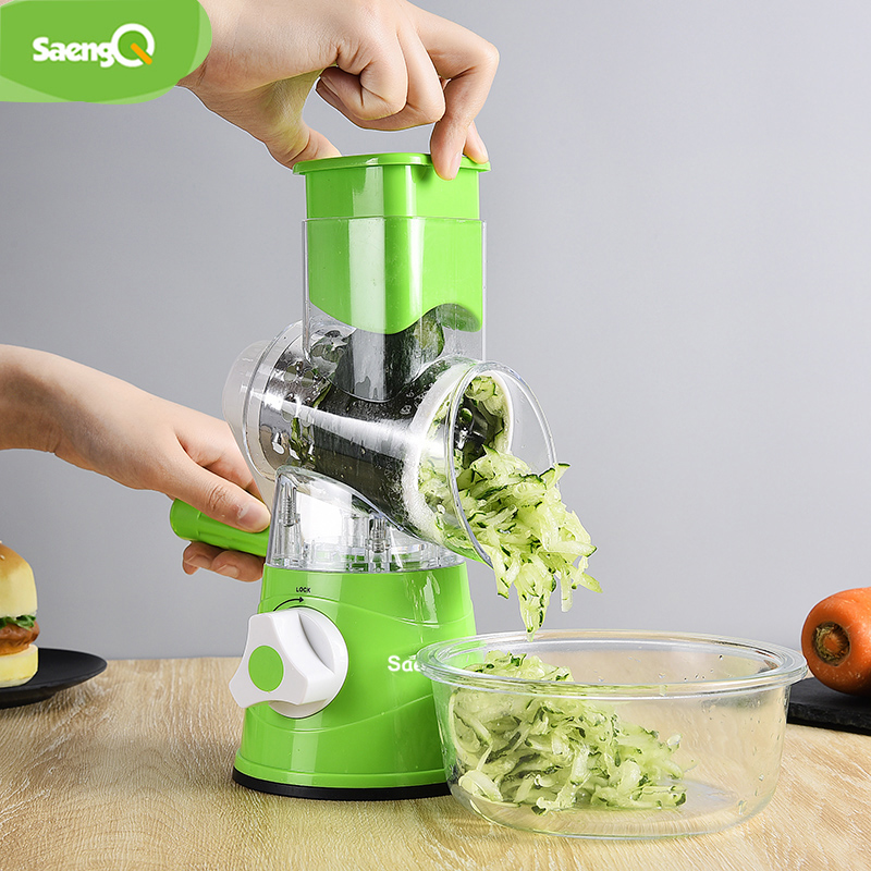 SaengQ Multifunctional Vegetable Grater Fruit Cutter Carrot Cheese Slicer Potato Peeler Kitchen Tools Vegetable Cutter