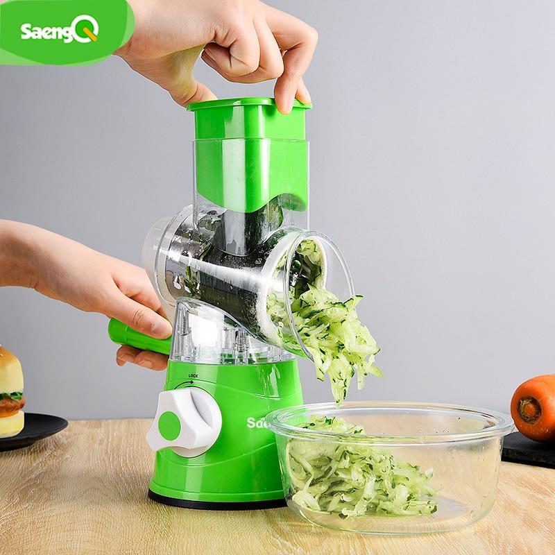 SaengQ Multifunctional Vegetable Grater Fruit Cutter Carrot Cheese Slicer Potato Peeler Kitchen Tools Vegetable Cutter