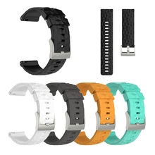Smart Watch Silicone Wrist Band Strap Bracelet For Suunto 9 Baro SmartWatch Soft silicone with smooth finish Adjustable
