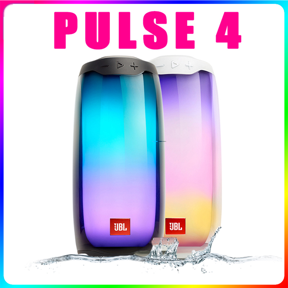 JBL Колонка PULSE 4 Беспроводные Bluetooth колонки IPX7 Водонепроницаемая Partybox портативная музыкальная Колонка Сабвуфер Бумбокс Huawei
