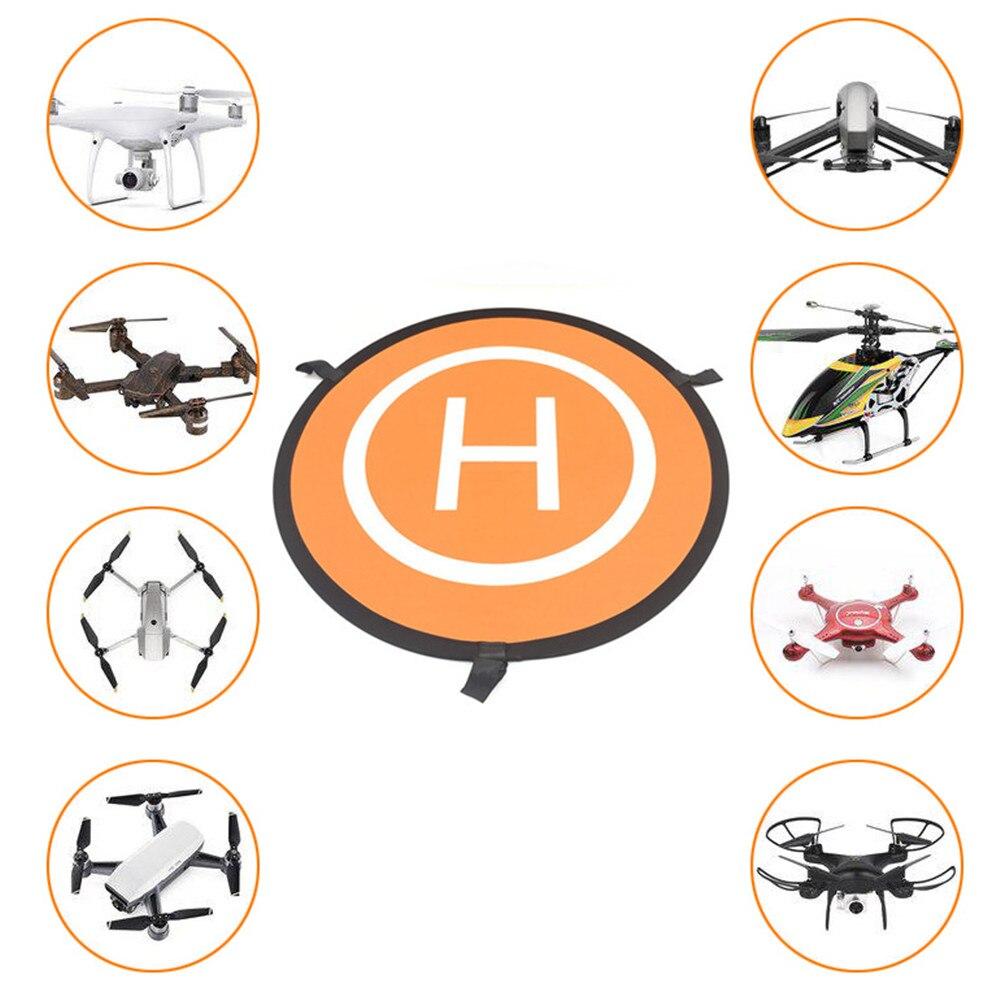 Быстрое складывание посадка площадка 75см универсальный FPV дрон парковка фартук коврик для DJI Spark Mavic Pro Drone Phantom 4 аксессуары