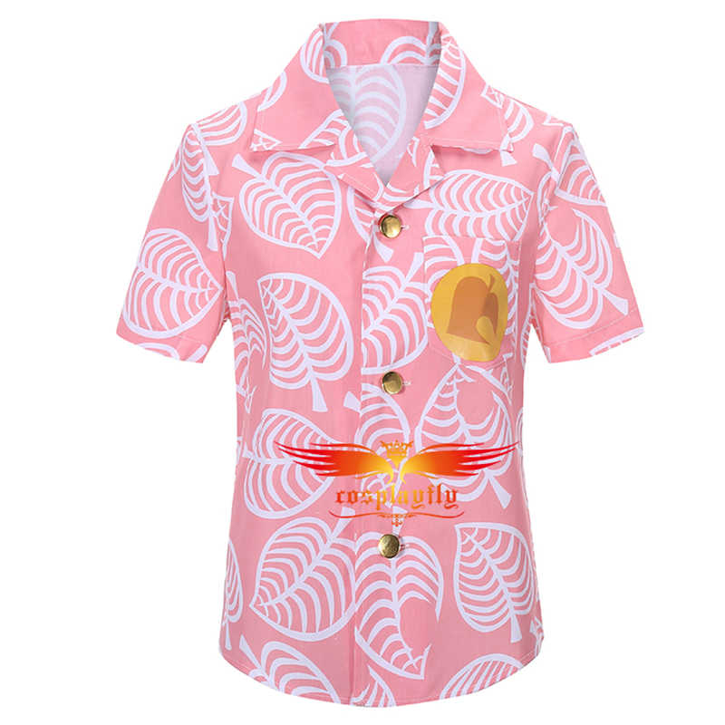 Animal Crossing Timmy /& Tommy Cosplay Costume Shirt Cotton Summer T-shirt Tee