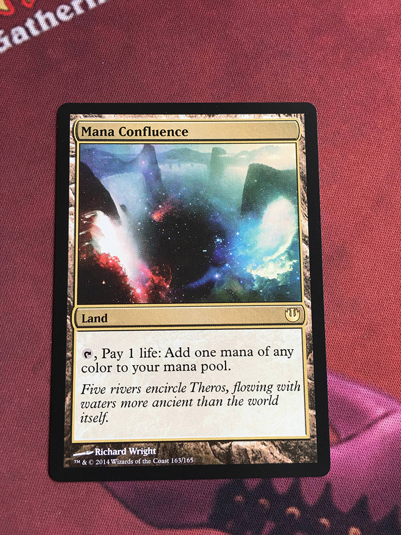 Mana Confluence	 JOU Magician ProxyKing 8.0 VIP The Proxy Cards To Gathering Every Single Mg Card.