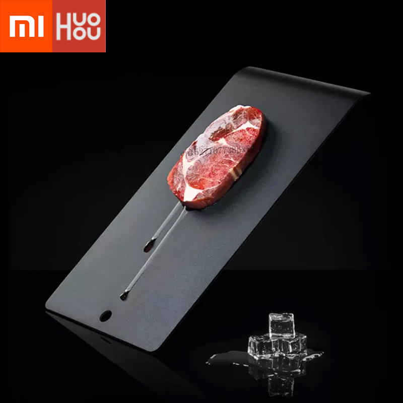 Xiaomi Mijia Huohou Superconducting Thawing Plate Natural Thawing Black Technology Hard Vegetable Cooking Accelerator Fast Thaw