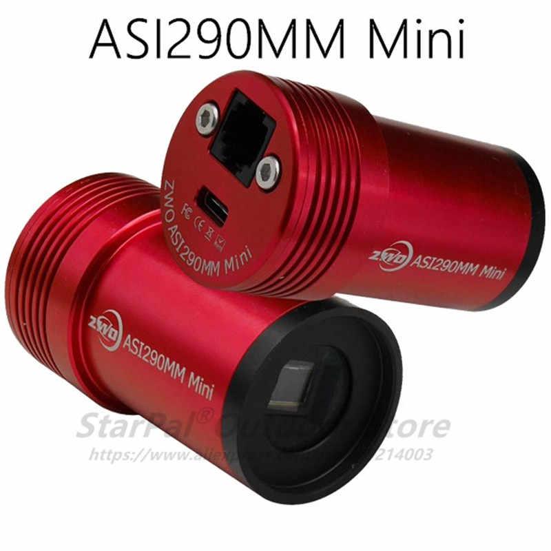 ZWO ASI290MC ASI224MC ASI290MM ASI290MM мини цветная астрономическая камера ASI Планетарная Солнечная Лунная визуализация/руководство высокой скорости USB3.0