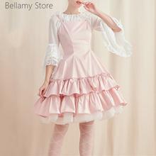 Универсальный костюм принцессы Лолиты рубашка с широкой юбкой