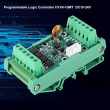Programmable Logic Controller Module DC 10~24V FX1N-10MT Industrial Control Board 8000 Steps motor regulator rg5 7646 dc control pc board use for hp 2820 2840 hp2820 hp2840 dc controller board