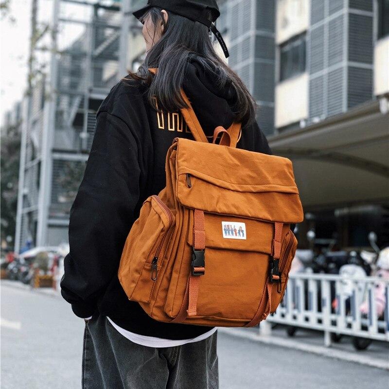 Women Backpack College School Bagpack Trend Female Backpack 2020 Fashion Harajuku Travel Shoulder Bags For Teenage Girls Mochila