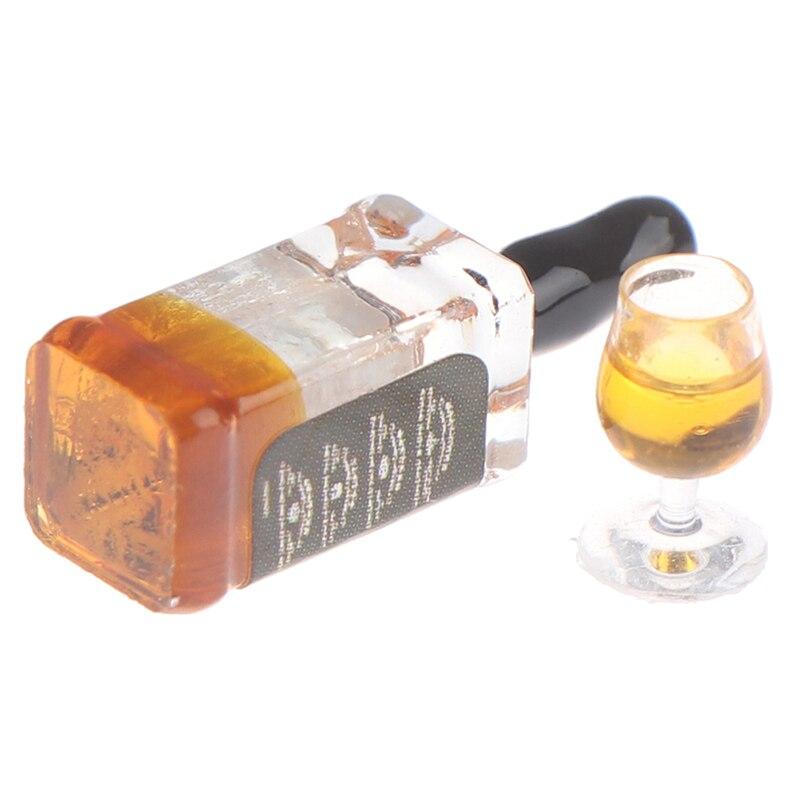 Miniatura Mini Copas De Vino Hogar accesorios de resina de alta calidad de diseño exquisito