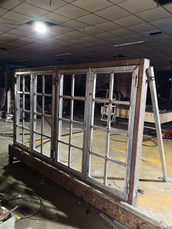 Hench Steel Security Doors And Windows In  China Company