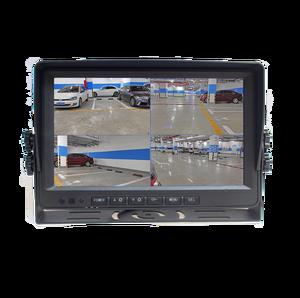 "Image 2 - DIYKIT AHD 9"" 4 Split QUAD Car HD Monitor 1080P AHD IR Night Vision Rear View LED Camera Waterproof with SD Card Video Recording"