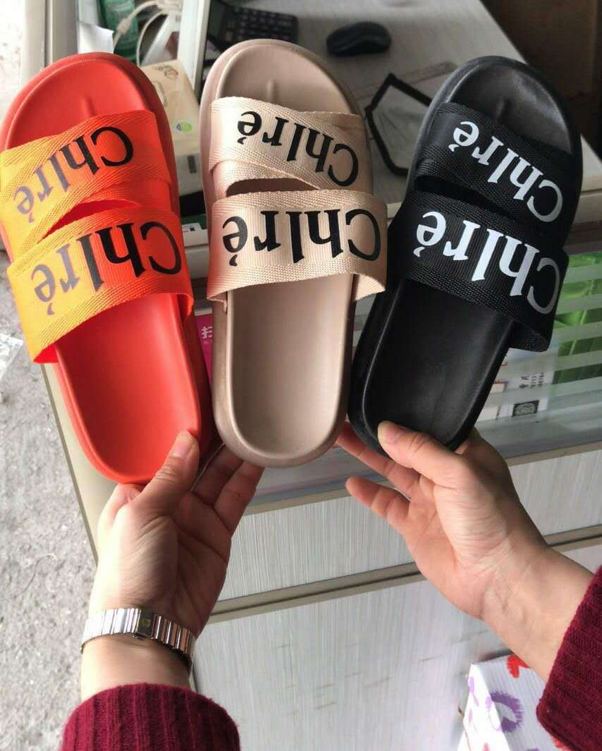 Women Slippers Shoes Woman Beach Shoes Female Fashion Brand Summer Luxury Shoes Women Designers Outdoor House Home Slippers