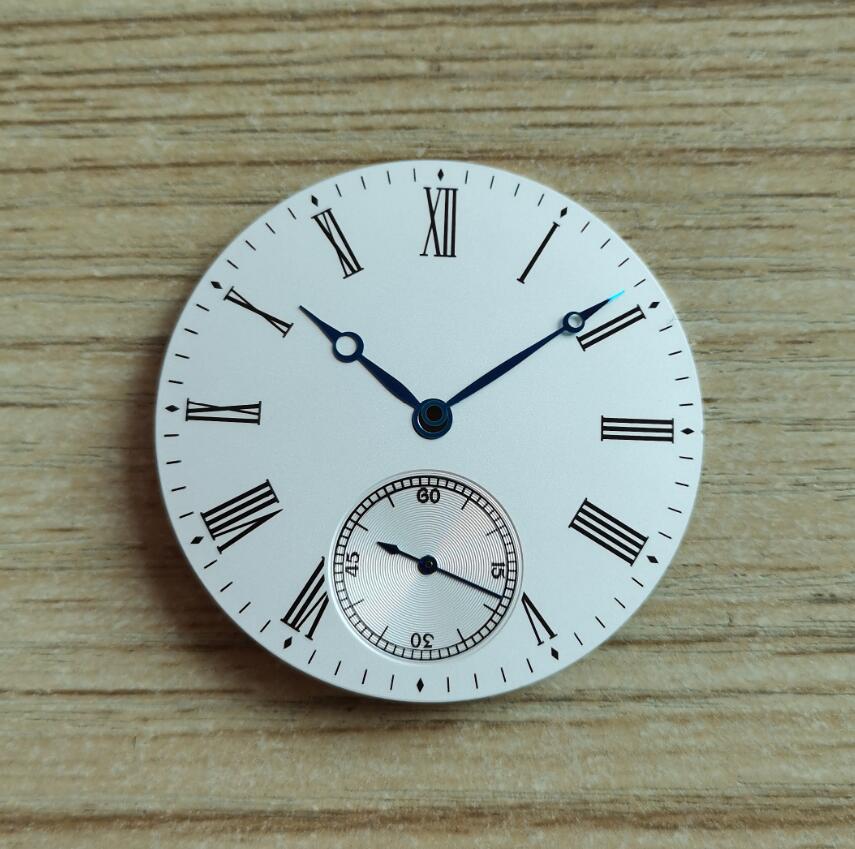arroz branco 39mm assista dial modificado relógio
