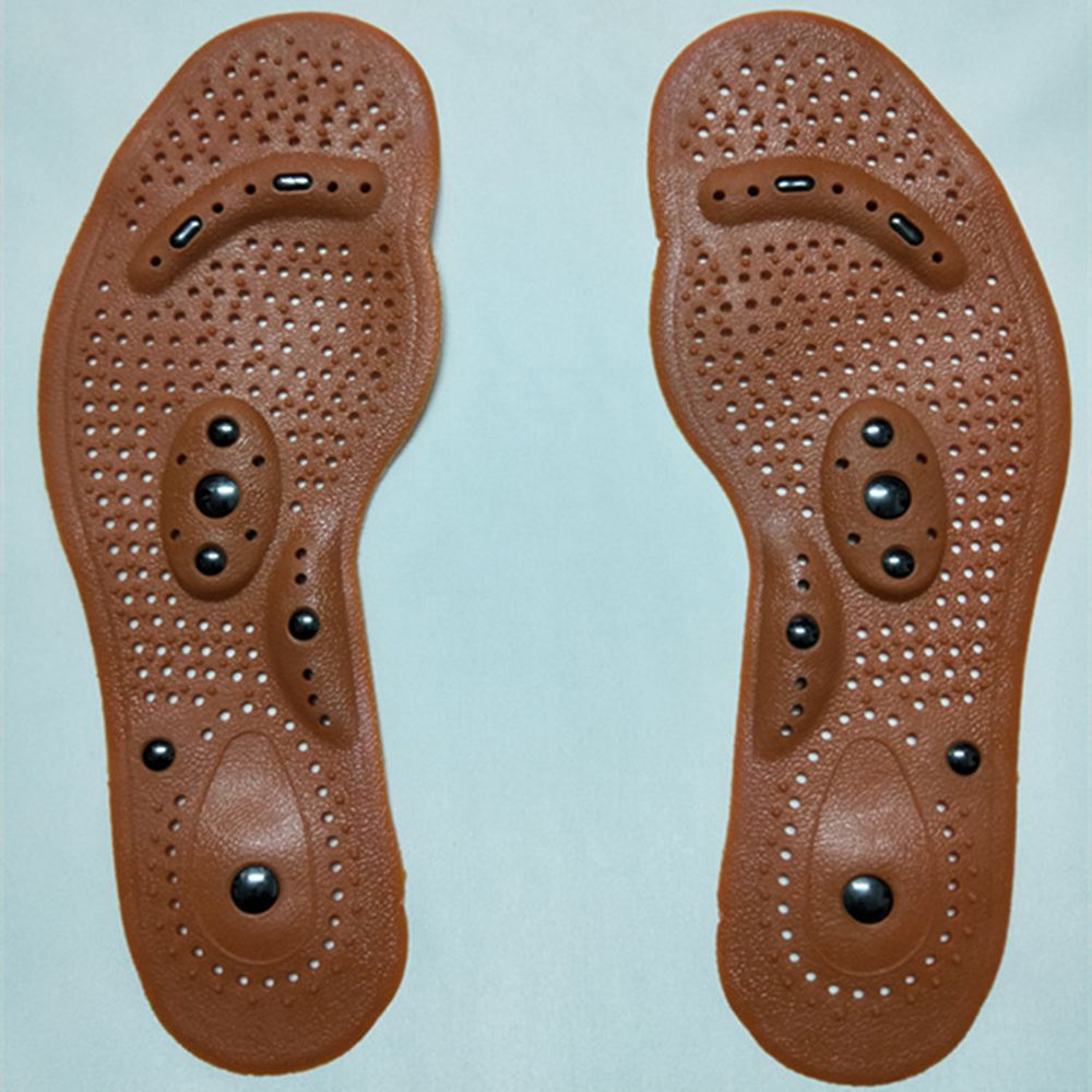 Foot Patch Cushion Slimming Body Shoe Insoles Gel Pad Acupressure Slimming Insoles Magnetic Massage Shoe Insoles