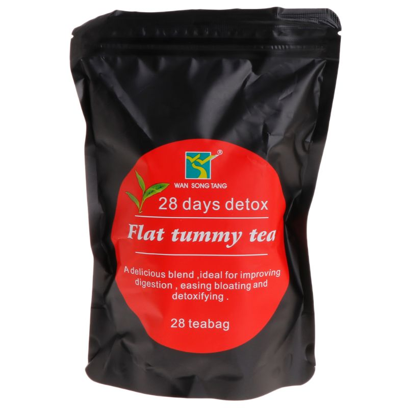 28 Bags Herbal Diet Weight Loss Tea Slimming Detox Cleanse Drink Fitness Body Slim Care