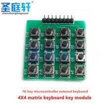 4x4 MCU accessory keyboard, Matrix keyboard, 16 buttons for arduino