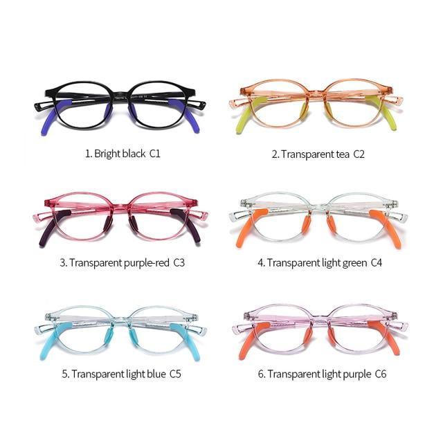 Купить детские очки с защитой от синего света tr90 для подростков регулируемой картинки цена