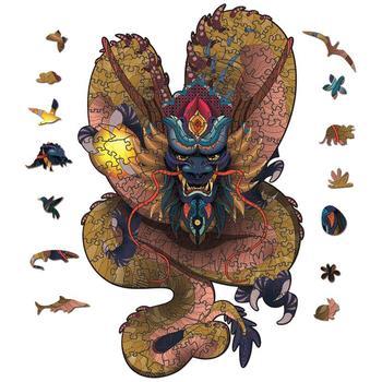 3D drewniane Puzzle dla dorośli i dzieci Puzzle kształt zwierząt Puzzle prezent kształt smoka kolorowe drewniane Puzzle drewniane Puzzle Jigsaw tanie i dobre opinie CN (pochodzenie) Drewno drewniane Ślub i Zaręczyny Chrzest chrzciny Na Dzień świętego Patryka Wielkie wydarzenie