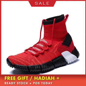 BOUSSAC Baskets Homme 2019 Men Basketball Shoes Men Shoes Outdoor Light high top Sport  Mens Trainers Zapatillas